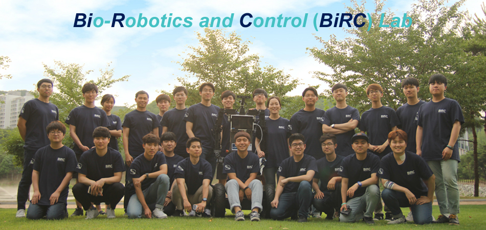 """Welcome to Bio-Robotics and Control (BiRC) Lab of UNIST."""